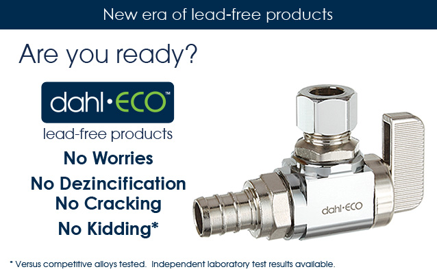 lead-free, lead-free plumbing products, lead-free valves, no dezincification