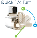 This is an image of a Quick 1/4 turn mini-ball™ Valve