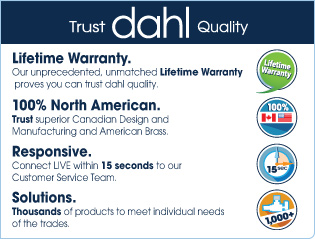 Lifetime Warranty, 100% North American, Customer Service, Solutions, American Brass, Canadian Design